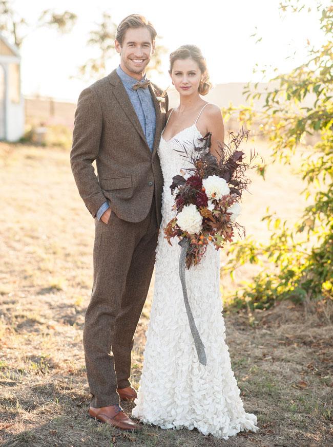 Свадебная бутоньерка для гостей своими руками 186