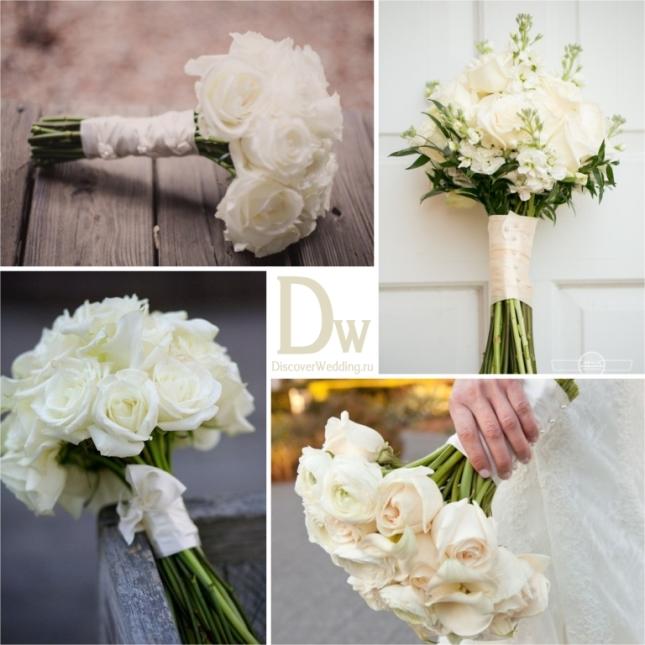 Пионы прекрасно подходят для букета невесты в белом цвете. Их нежная, чарующая красота позволяет