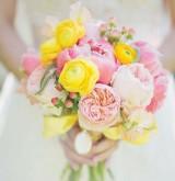 Весенние букеты для невесты
