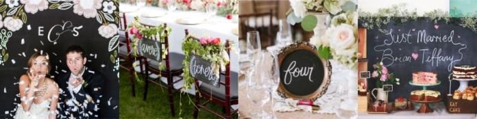 Доска рассадки гостей на свадьбе 158