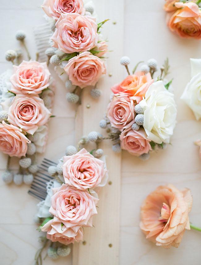 Заколки для волос своими руками цветы