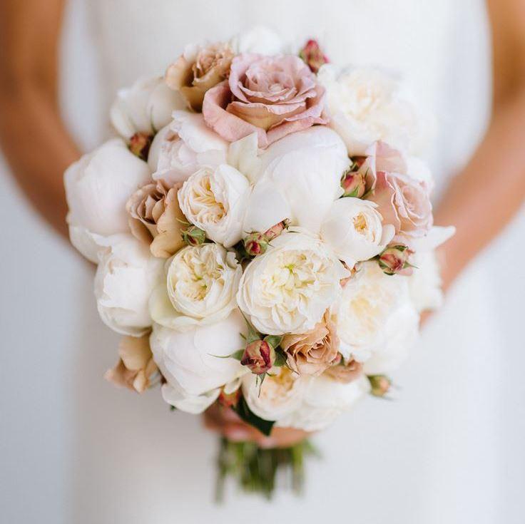 Свадебный букет в пастельных тонах картинки