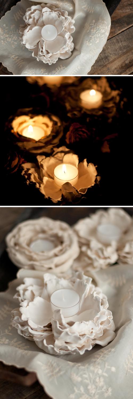 Plaster-Flower-Votives-8
