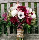 Идеи осенних свадебных букетов