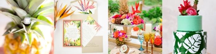 Свадьба в тропики стиле