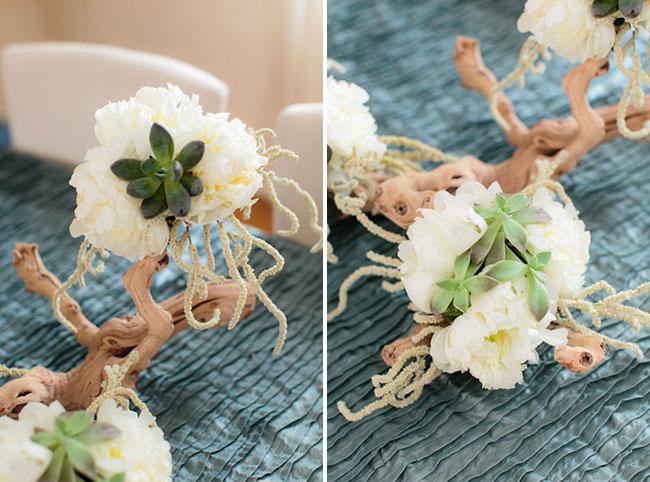 Цветы для свадебного стола своими руками мастер
