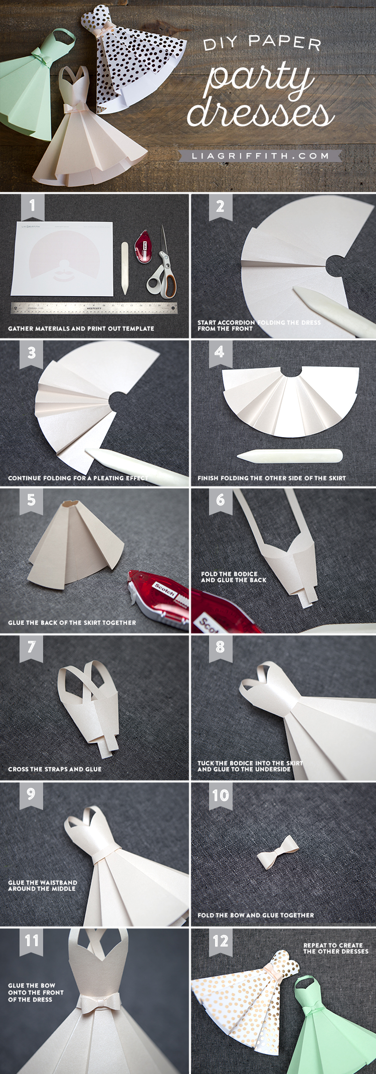 Tutorial_PaperPartyDress